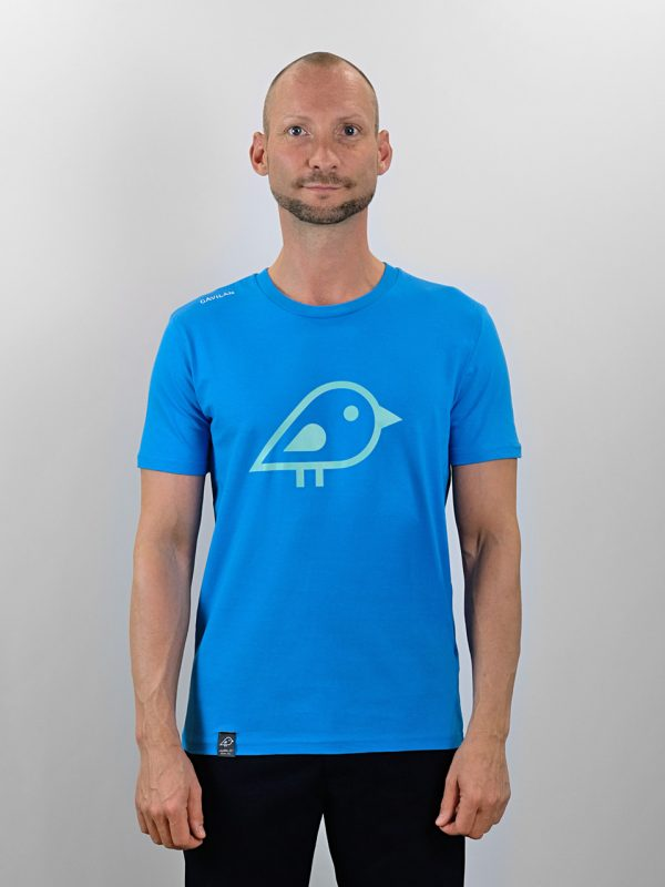 Camiseta bird blue