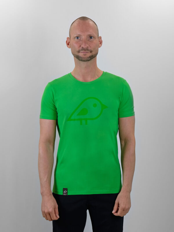 Camiseta bird green