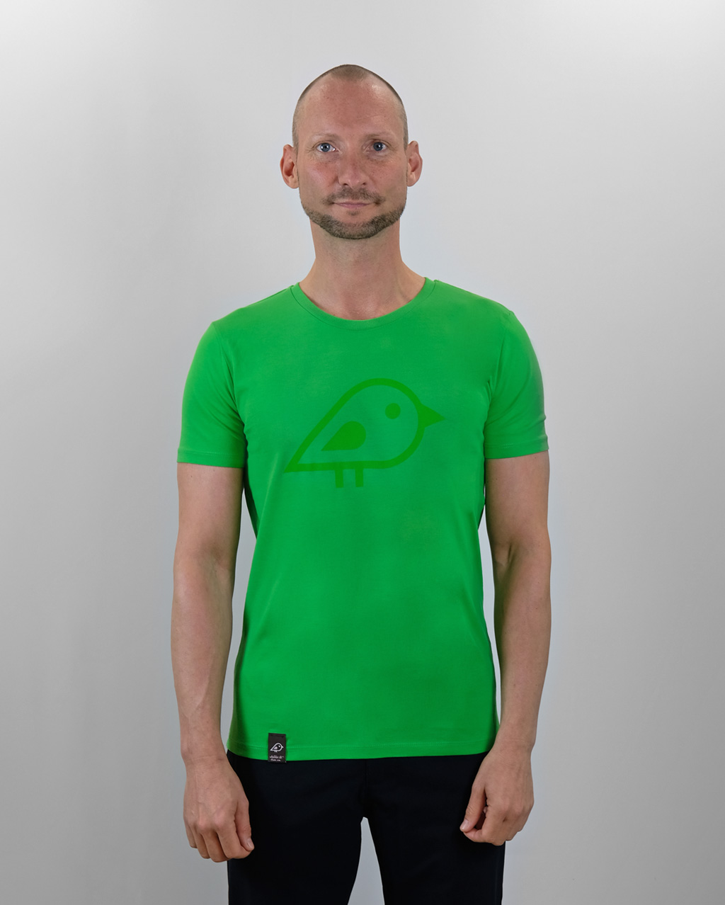 Camiseta bird green