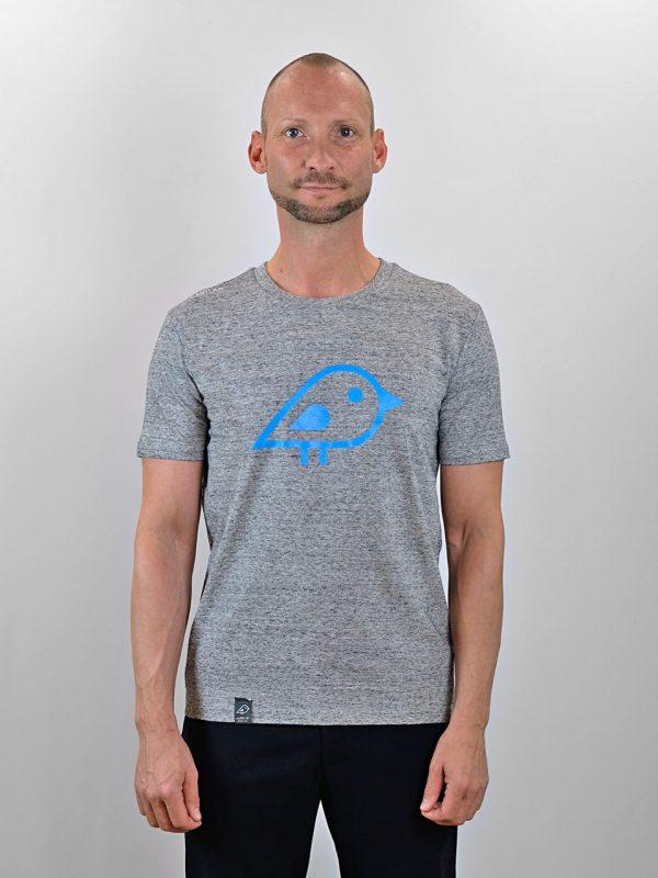 Camiseta bird grey