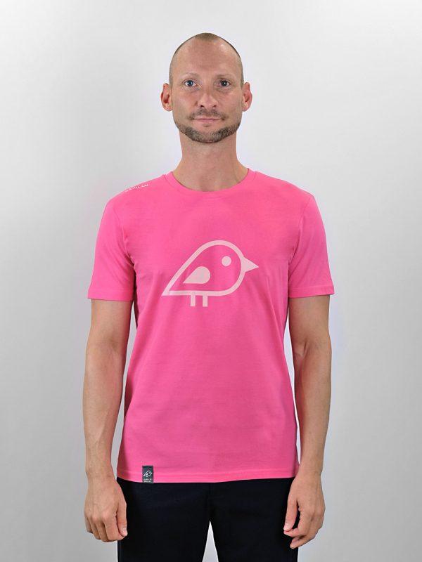 Camiseta bird pink