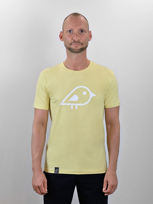 Camiseta bird yellow