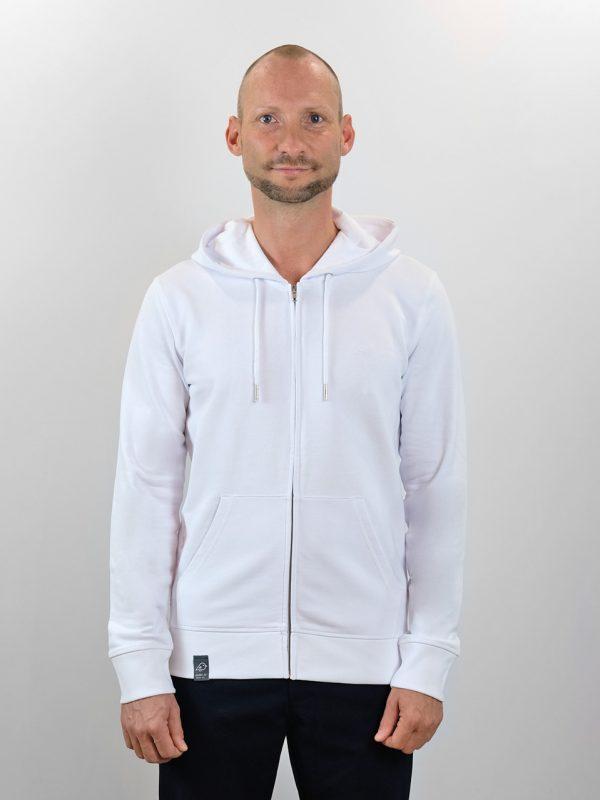 Hoodie Jacket white