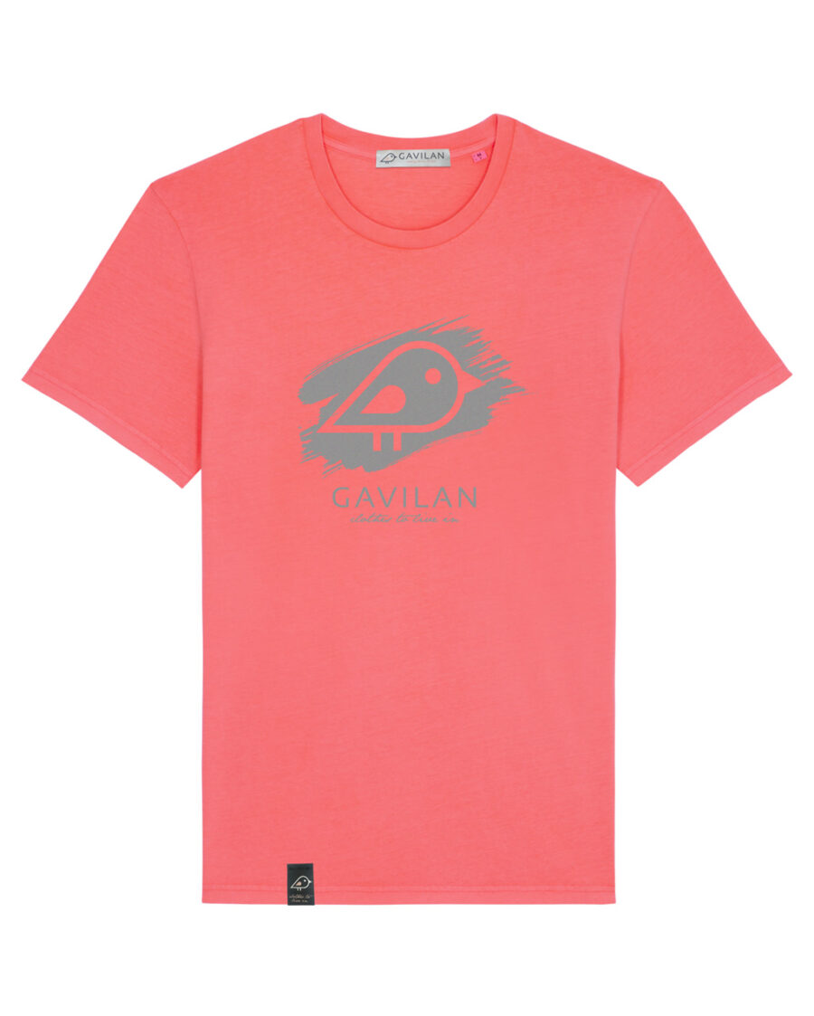 Camiseta Brush Pink clean