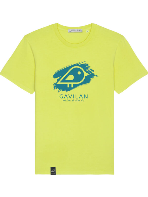 Camiseta Brush Yellow clean