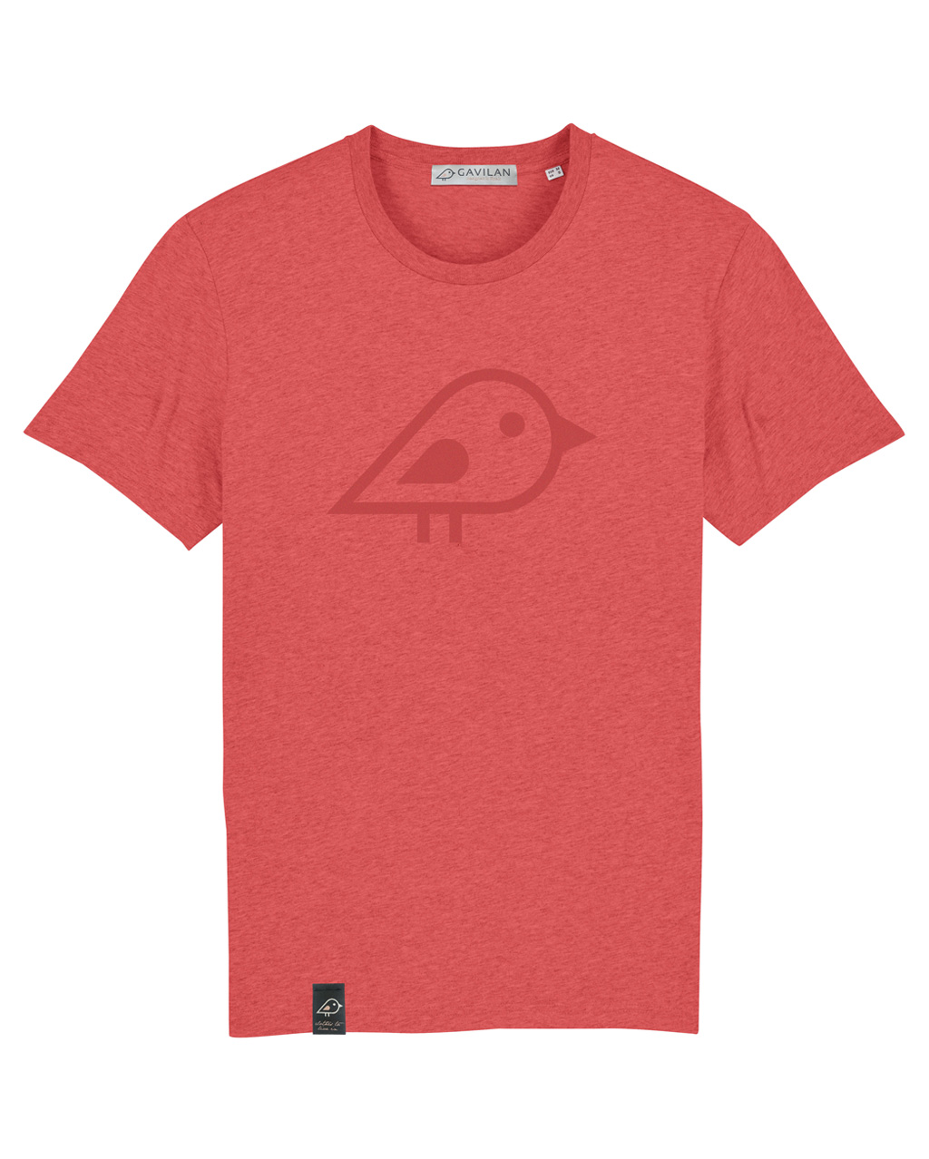 Camiseta bird coral clean