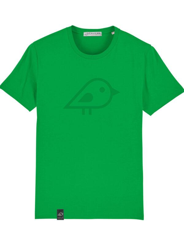 Camiseta bird green clean