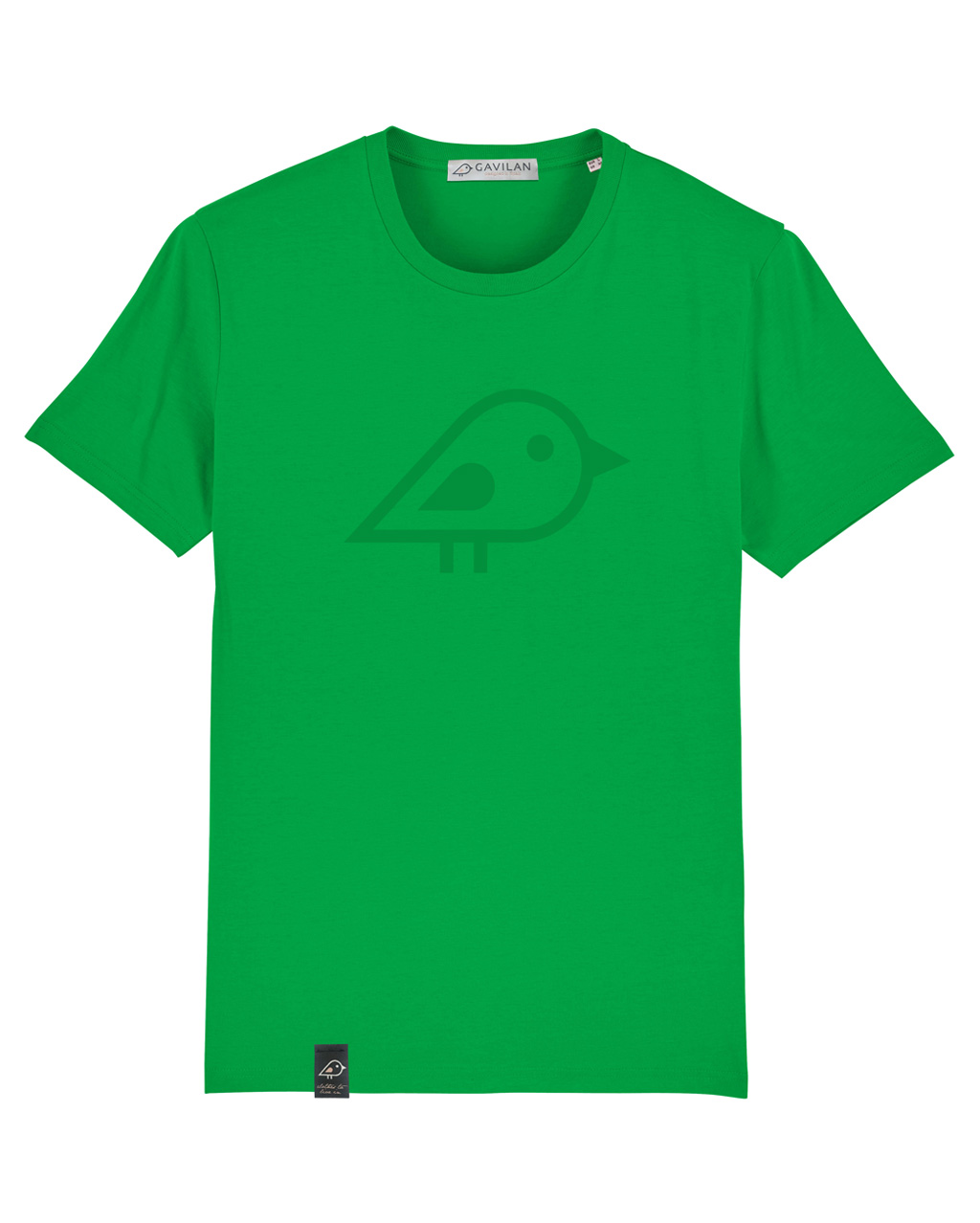 Camiseta bird green clean