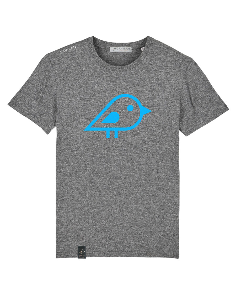 Camiseta bird grey clean