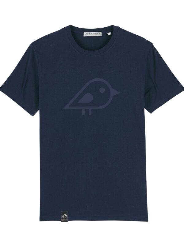 Camiseta bird marino clean