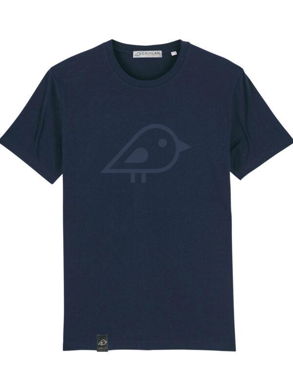 Camiseta bird marino clean