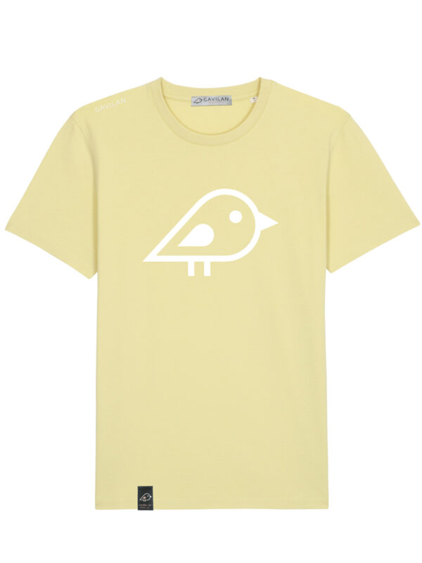 Camiseta bird yellow clean