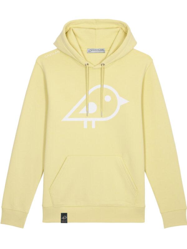 Hoodie yellow clean